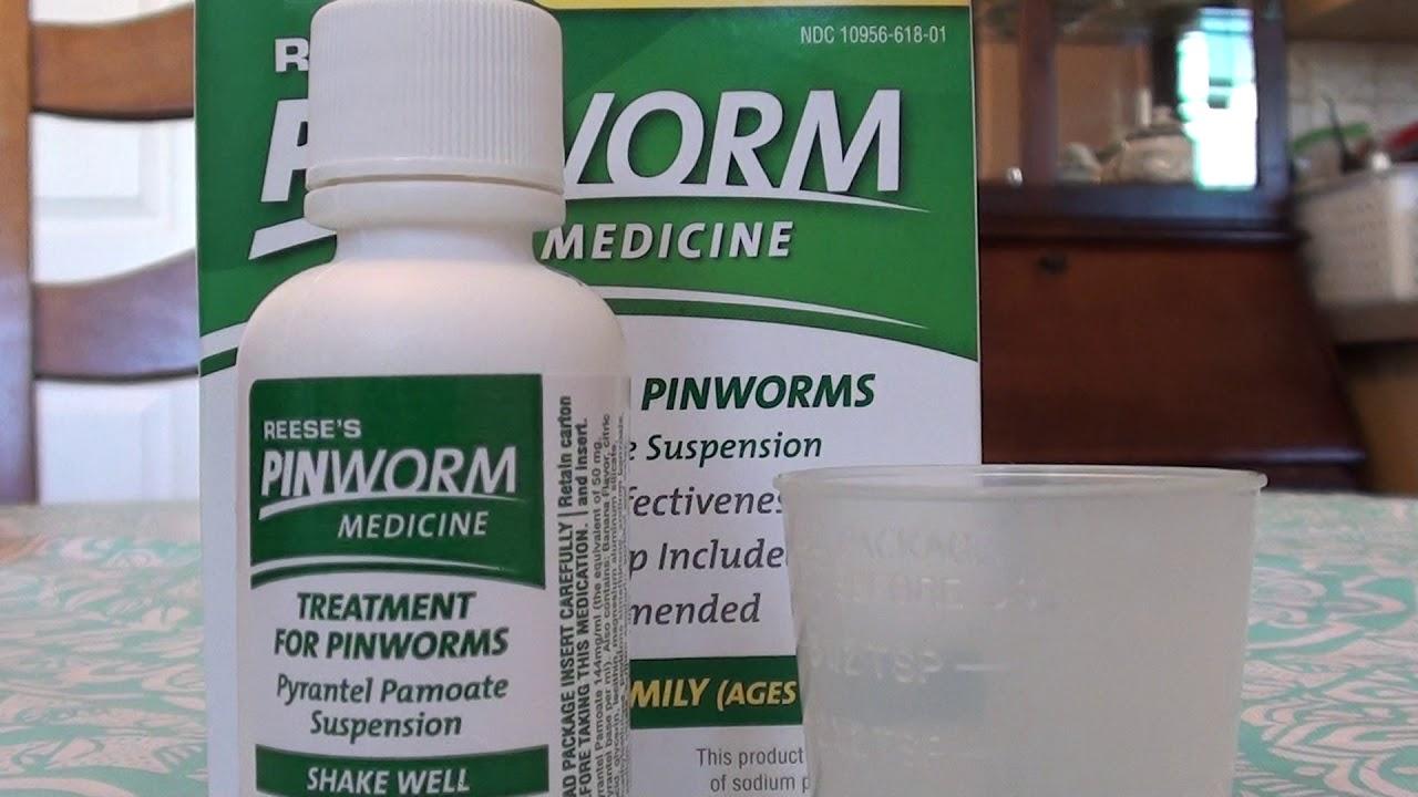 pinworms, ami segít tőlük